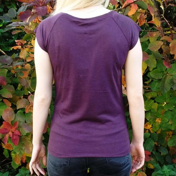 Luna Lotus Bamboo Organic Cotton T-Shirt