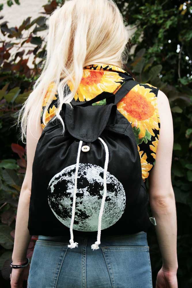 Full Moon Backpack Luna Lotus