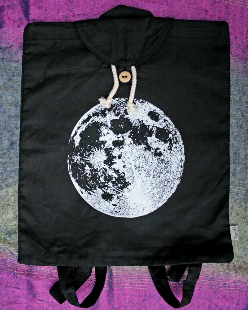 Full Moon Backpack Luna Lotus