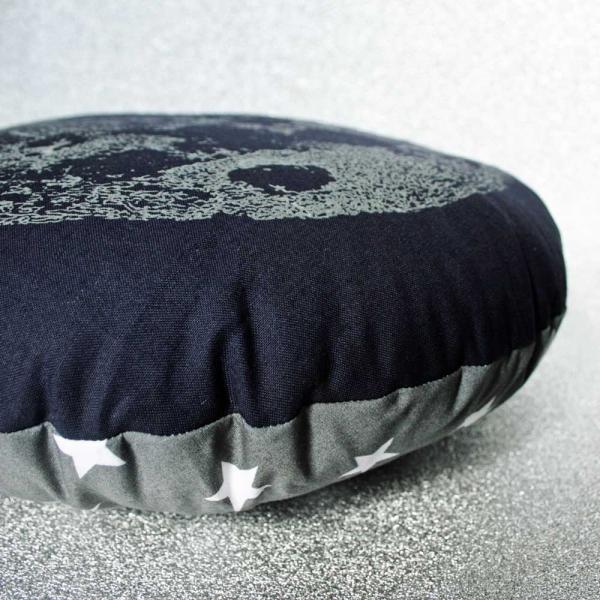 Glow in the dark moon cushion Luna lotus