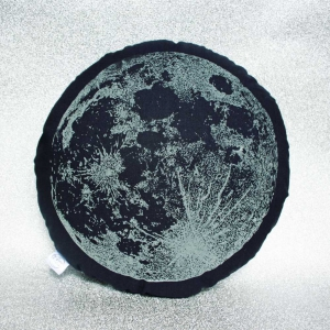 Glow in the dark moon cushion Luna lotus