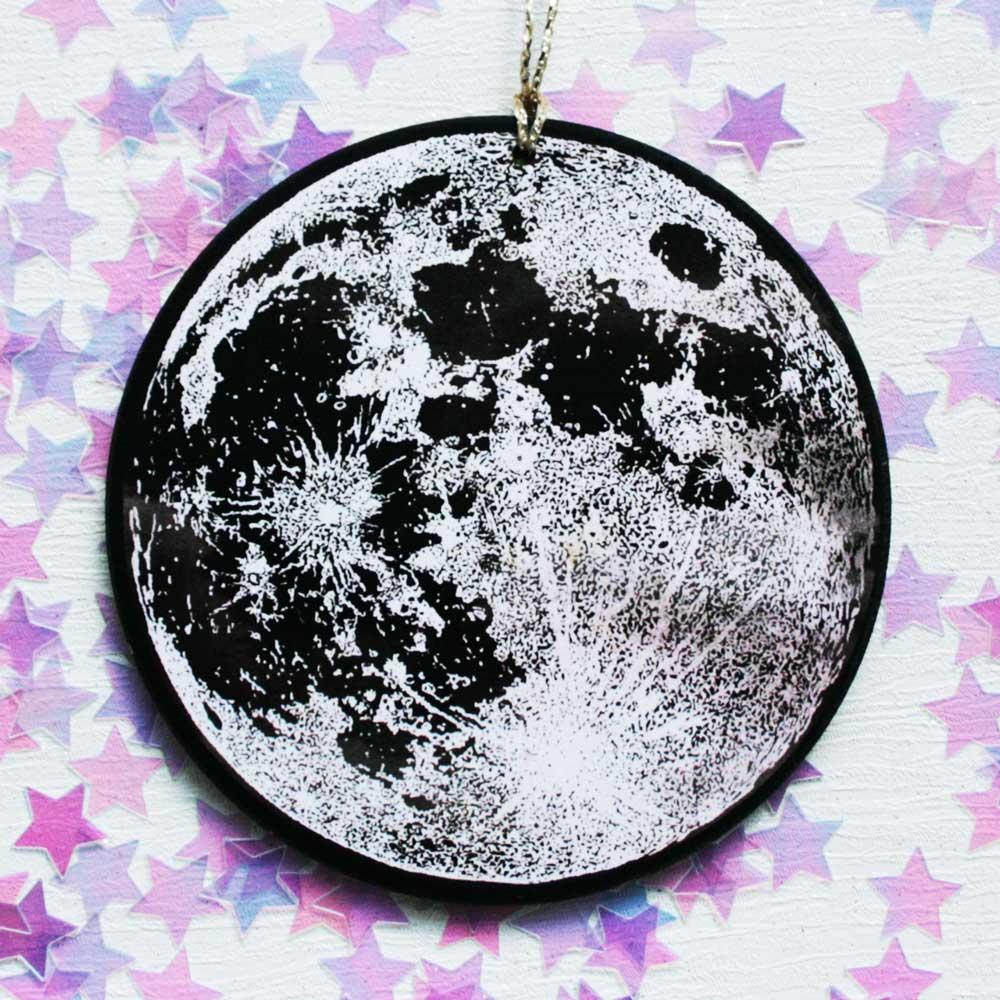 Full Moon Christmas Decoration Luna Lotus