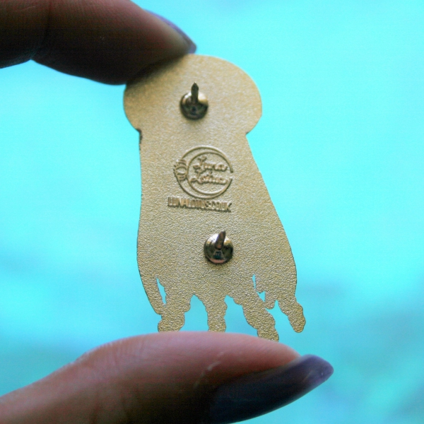 Galactic Jellyfish Hard Enamel Pin