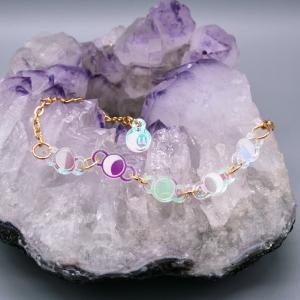 Moonbeam Bracelet Iridescent Moon Phase Jewellery
