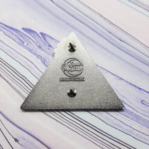 Fox Fire Elemental Pin