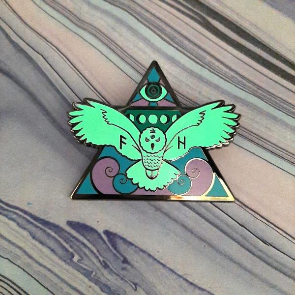 Owl Air Elemental Pin