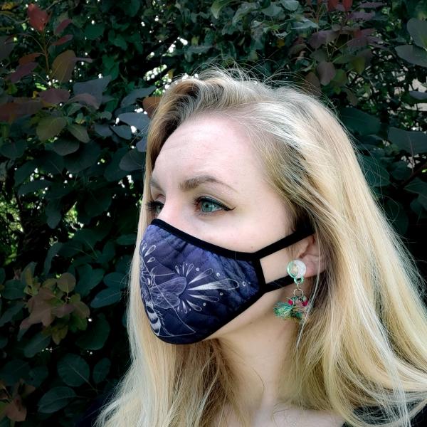 Luna Lotus Bee Face Mask